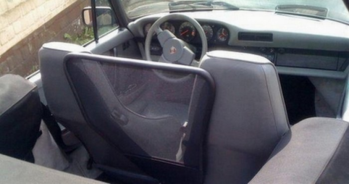 Wind Deflector Porsche 911 Carrera 3.2 Targa and Cabriolet from  model year 1987 on
