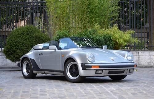 Windschott für Porsche 911 Speedster Mj. 1989