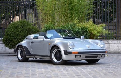Wind Deflector for Porsche 911 Speedster model year 1989