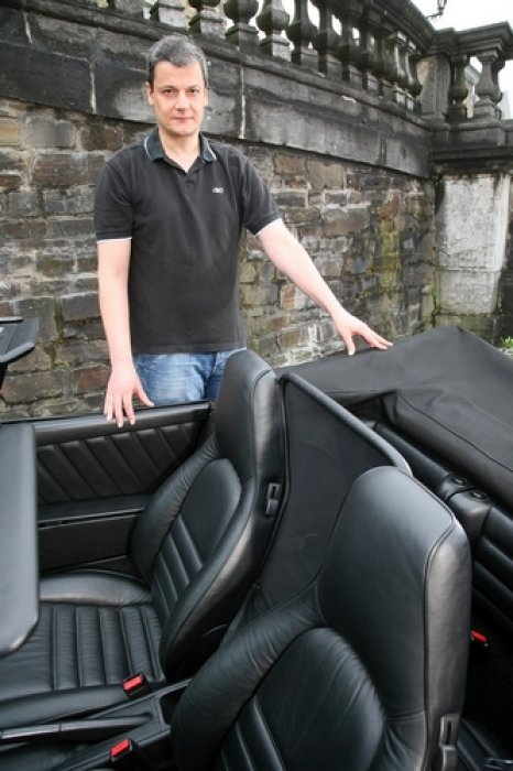 Wind deflector for Porsche 964 Cabriolet and Targa