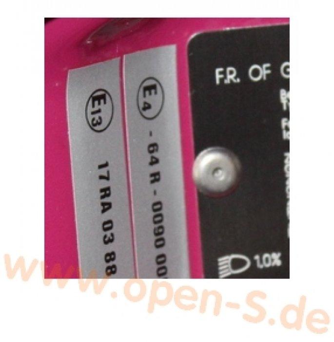 E4-ECE Reglement-Sticker 1989 -1993