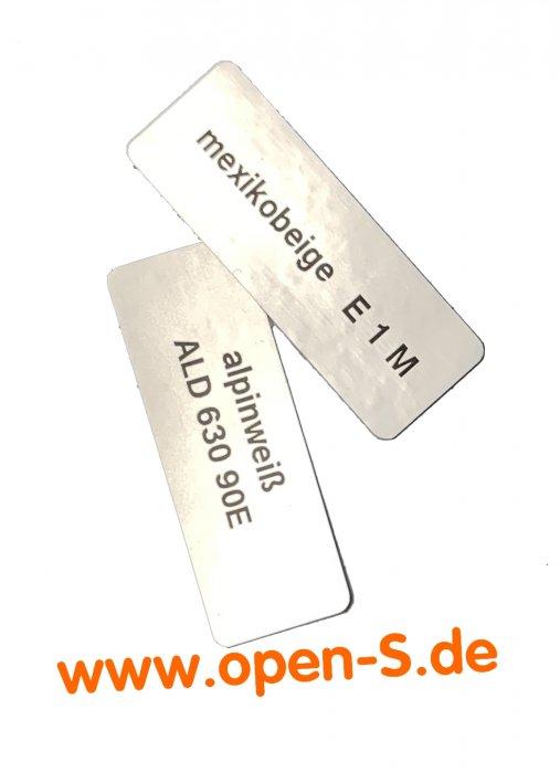 Colour-Ident-Sticker  - Solid Colours