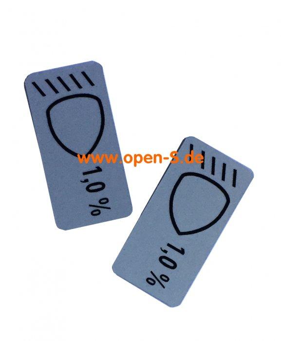 ECE Headlights position sticker