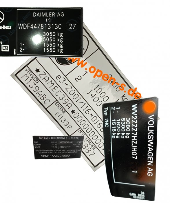 Special Composite Type Plate Foil silver - desired content