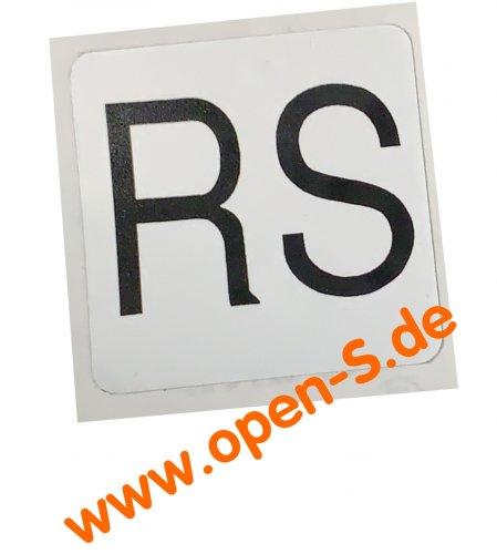Étiquette adhésive pour étrier de frein 993 RS 1996-1998 (paire)