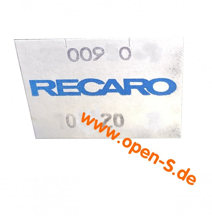 RECARO seat rail adhesive individual (pair).